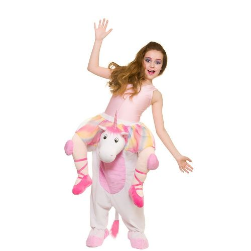 Childrens Carry Me - Unicorn Costume Unisex Fancy Dress